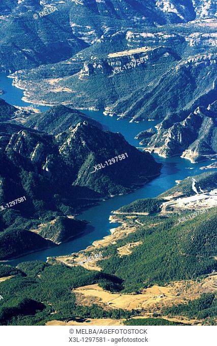 Llosa del Cavall reservoir, Lerida provincia, Catalonia, Spain