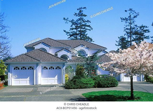 home in Sidney, Vancouver Island, British Columbia, Canada