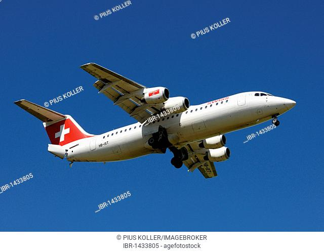 AVRO 146 RJ100 aircraft by Swiss International Air Lines