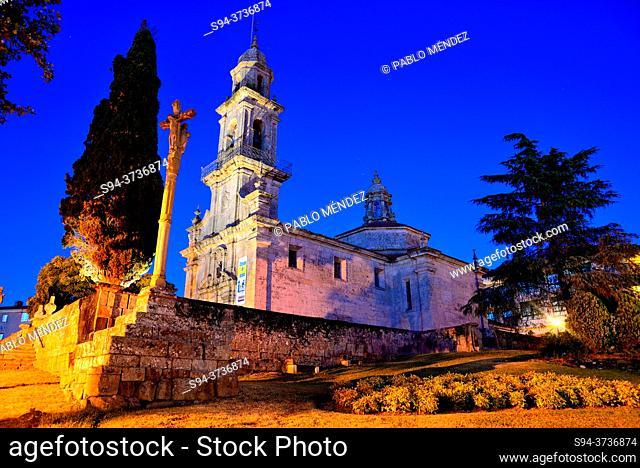 Church of San Bieito of Allariz, Orense, Spain