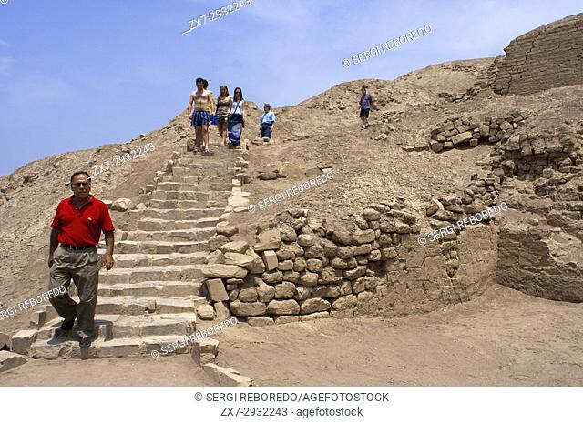 Pachacamac is a large archaeological site a few miles south of Lima that was once a mojor pilgrimage destination, Lima, Peru