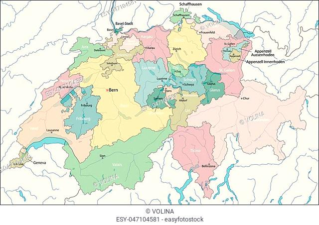 Switzerland, officially the Swiss Confederation, is a federal republic in Europe
