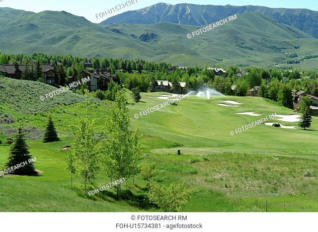 Elkhorn, ID, Idaho, Elkhorn Golf Course maintenance
