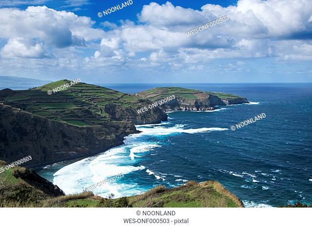 Portugal, Azores, Sao Miguel, North coast