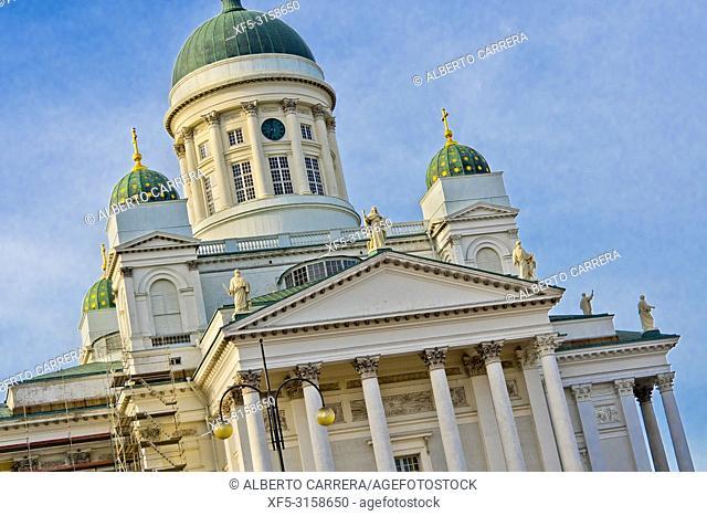 Helsinki Lutheran Cathedral, Senate Square, Helsinki, Finland, Europe