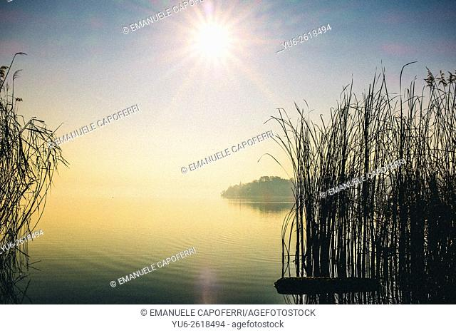 Lake Varese, Bardello, Italy