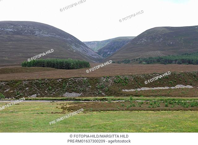 Glen Feshie, Cairngorms National Park, Grampian Mountains, Highlands, Scotland, United Kingdom / Glen Feshie, Cairngorms Nationalpark, Grampian Mountains