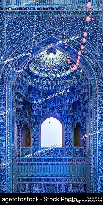 Jame Mosque, Yazd, Iran, Western Asia, Asia, Middle East