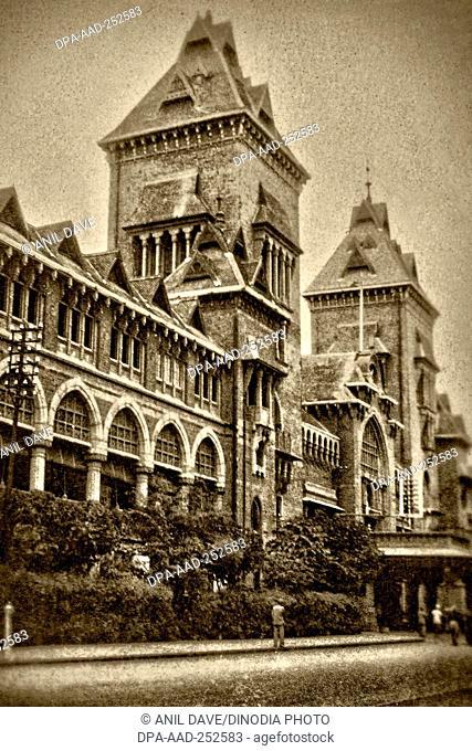 Vintage photos madras general post office, tamil nadu, india, asia, 1905