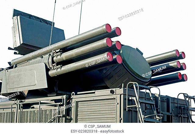 Pantsir-S1 missile and anti-aircraft weapon system