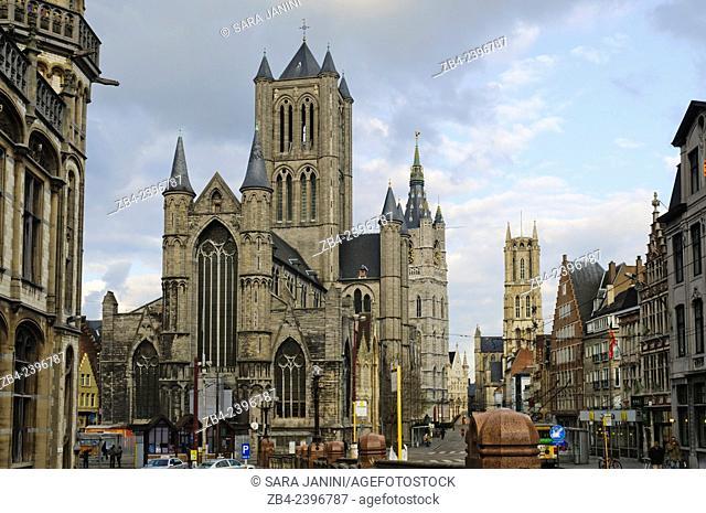 Saint Nicholas' Church, Ghent, Belgium, Europe