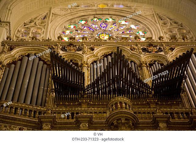 The Primate Cathedral of Saint Mary, XIII-XV centureis, Toledo, Castilla la Mancha, Spain, Europe