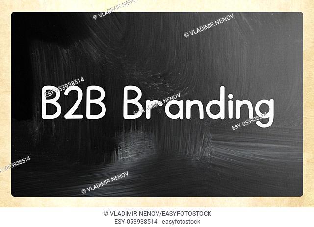 b2b branding concept