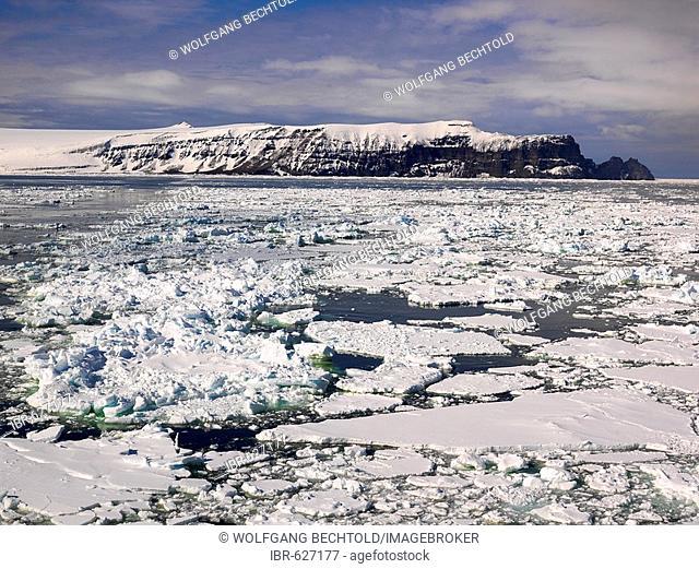 Northern tip of Franklin Island, Antarctica