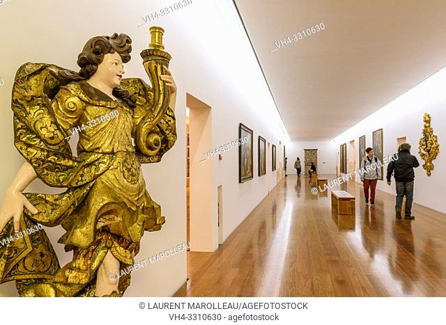 Museum at Royal Church of Sao Francisco, Evora, Alentejo Region, Portugal, Europe