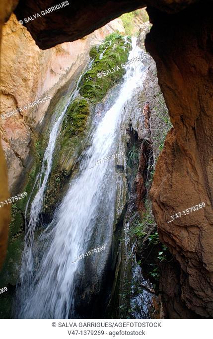 Bercolon ravine, Zagra, Tuéjar, Alto Turia, high Turia, comunitat Valenciana, Valencia, Spain