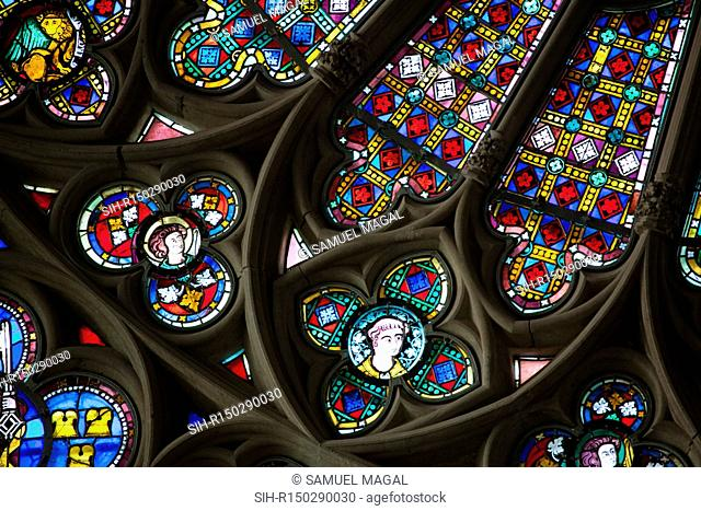 The former Cathedral of St. Nazaire was the cathedral of Carcassonne until 1801. It is in origin a Romanesque building, consecrated by Pope Urban II in 1096
