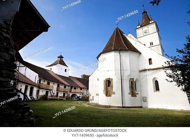 Prejmer Church  Prejmer, Transylvania, Romania, Europe