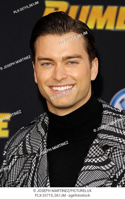 """Pierson Fode at the Premiere of Paramount Pictures' """"""""Bumblebee"""""""" held at the TCL Chinese Theatre in Hollywood, CA, December 9, 2018"""