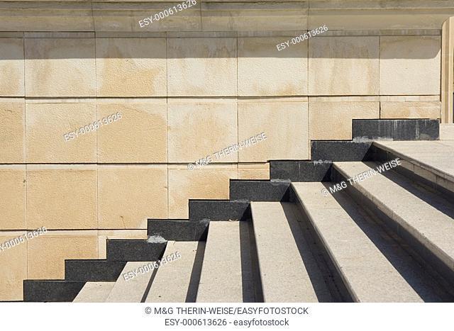 National Museum, Stairs, Ashgabat, Turkmenistan
