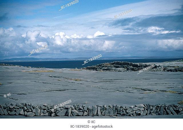 Inishmore,Aran Islands,Co Galway,Ireland,Limestone pavement