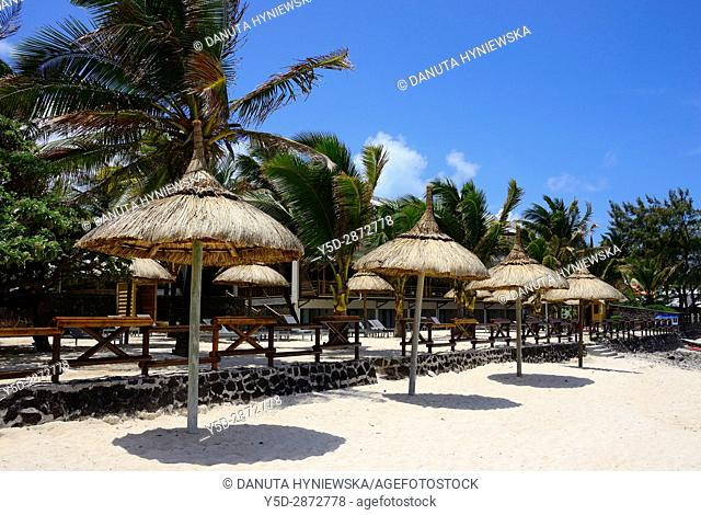 Africa, Mauritius, Pamplemousses, Grand Port District , Blue Bay beach