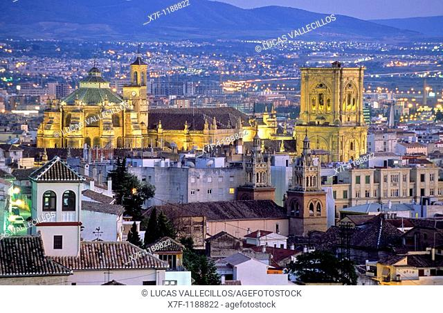 Cathedral Granada  Andalucia, Spain