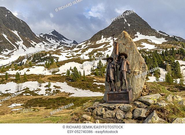 Landscape near Staller Saddle, High Tauern, East Tyrol, Austria