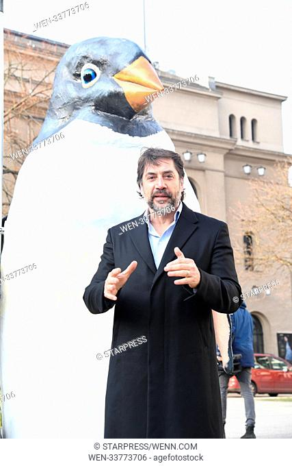 Javier Bardem takes part in a Greenpeace campaign to create the largest protected area on Earth, an Antarctic Ocean Sanctuary