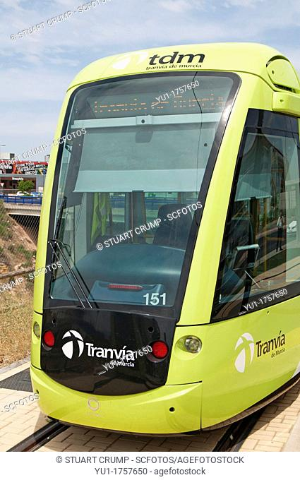 Murcia Tram Line 1, Spain  Opened in June 2011  A fleet of 11 Alstom Citidis 302 trams run from Estadio Nueva Condomina in the north-east to University of...