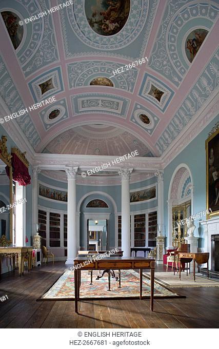 The Library, Kenwood House, Hampstead, London, c2013. Artist: Patricia Payne