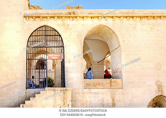 Unidentified people visit Zinciriye Madrassa , a popular landmark in Mardin, Turkey. 17 June 2018