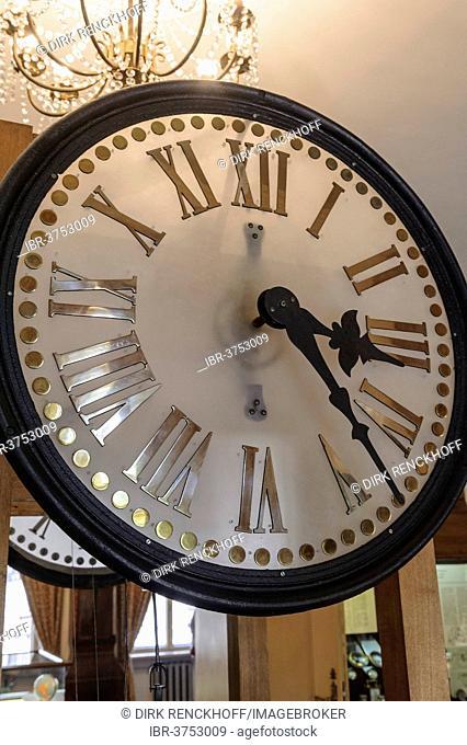 Clock in the Clock Museum, Klaipeda, Klaipeda, Lithuania