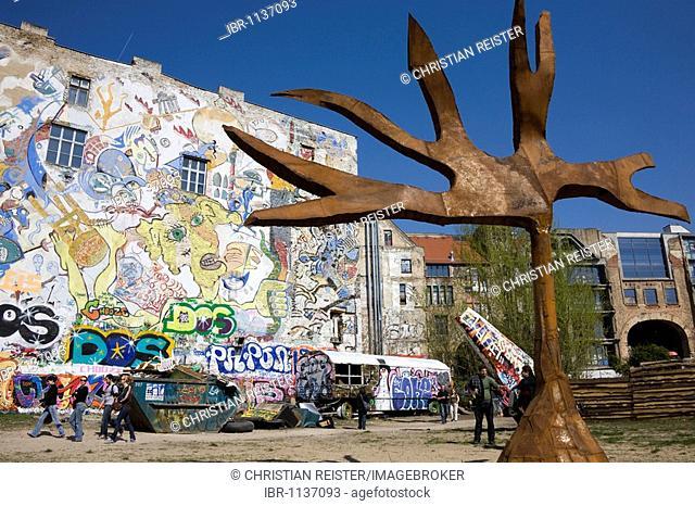 Kunsthaus Tacheles building, Oranienburg Street, Berlin-Mitte, Germany, Europe