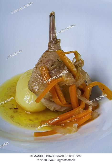 Galician cuisine: Pata de ave (Bird leg)