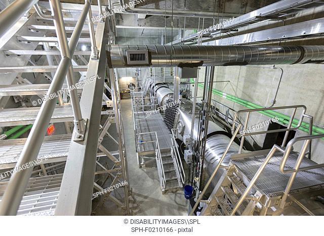 Water treatment plant ultraviolet ionization equipment