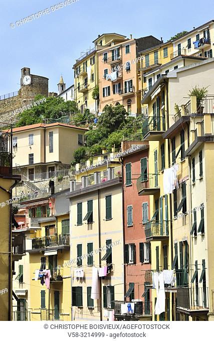 Italy, Liguria, Cinque Terre National Park, World Heritage Site, Riomaggiore