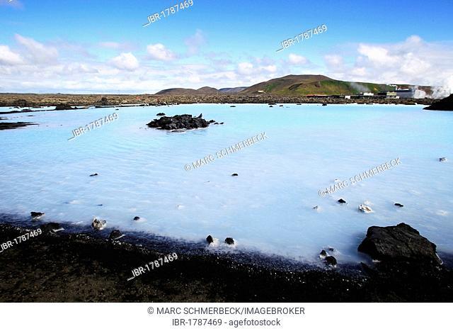 Blue Lagoon geothermal spa, Iceland, Europe