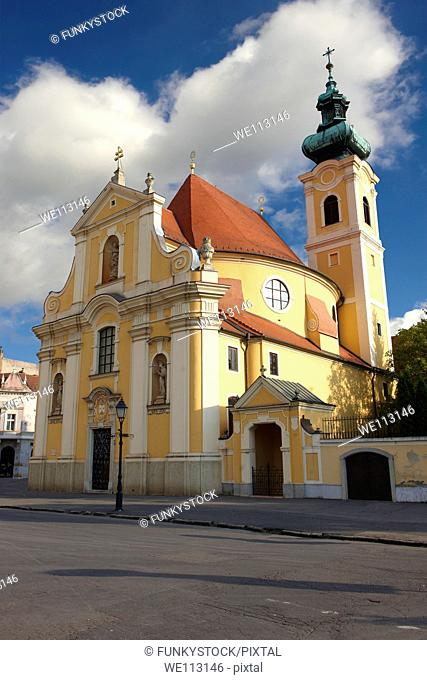 Carmelite church - Gyor  Györ  Hungary