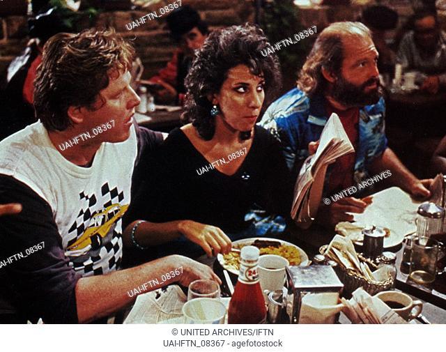 D.C. Cab, aka: Die Chaotenclique, USA 1983, Regie: Joel Schumacher, Darsteller: (v. l.) Gary Busey, Anne DeSalvo, Max Gail