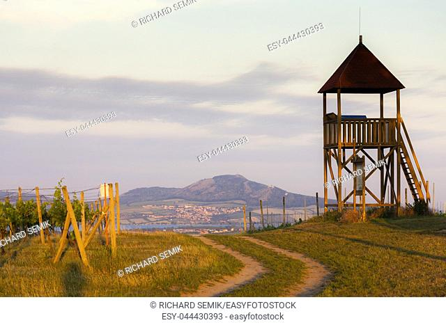 lookout tower Starovicky, Moravia region, Czech Republic