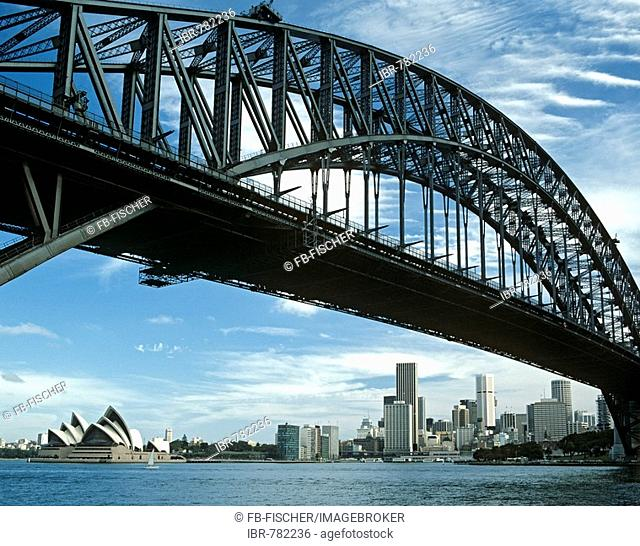 Harbour Bridge, Opera House, Sydney, New South Wales, Australia