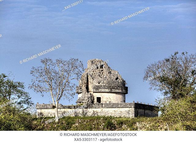 Observatory (Caracol), Chichen Itza, UNESCO World Heritage Site, Yucatan, Mexico