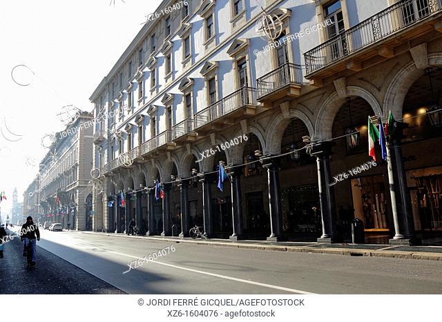Via Roma, Torino, Italy, Europe