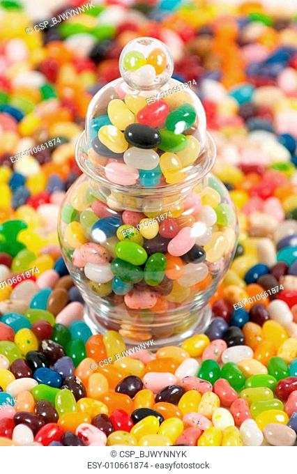 Jellybeans with a full jar