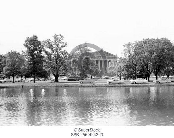 USA, Tennessee, Nashville, Parthenon in Centennial Park