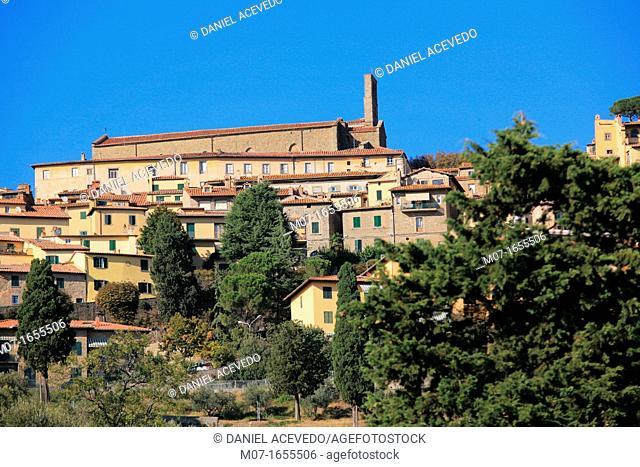 Cortona village, Arezzo province, Italy, Europe