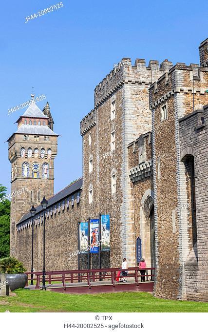 Wales, Cardiff, Cardiff Castle