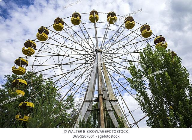 Armenia, Yeghegnadzor, amusement park, ferris wheel