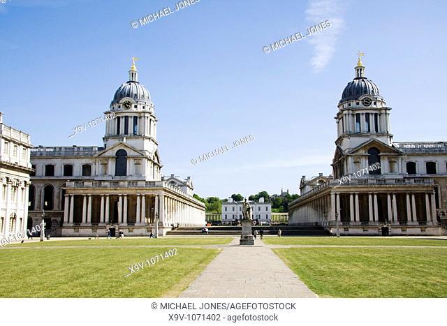 Royal Naval College, Greenwich, London, England